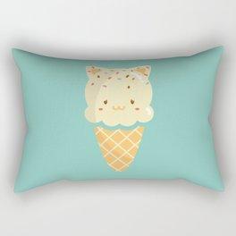 Vanilla Ice-cream Rectangular Pillow