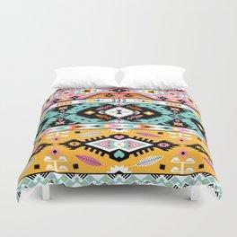 Boho Navajo Geometric Var. 13 Duvet Cover