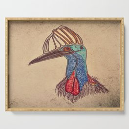 Cassowary Serving Tray