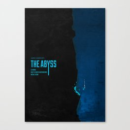 The Abyss (1989) - minimal poster Canvas Print