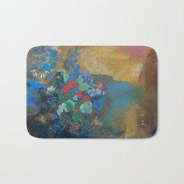 Odilon Redon - Ophelia Among The Flowers Bath Mat