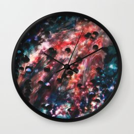 The Energy of Space Wall Clock