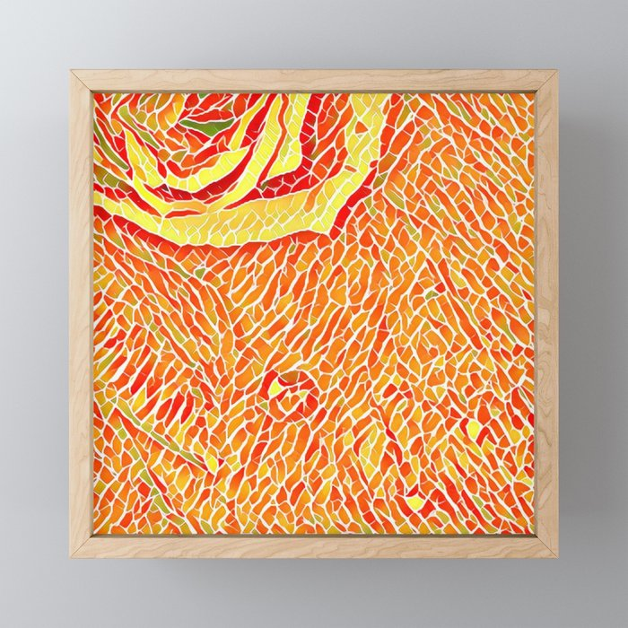 Rose Framed Mini Art Print