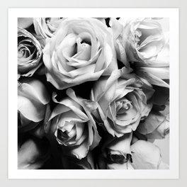 Roses Squad Goals Art Print