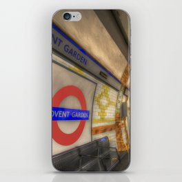 Covent Garden Tube station iPhone Skin