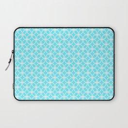 Trellis_Blue Laptop Sleeve