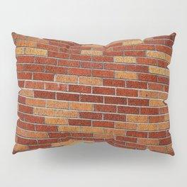 Brick Wall Rorschach Pillow Sham