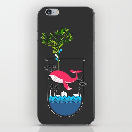 Nature Whale iPhone & iPod Skin