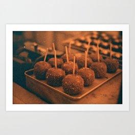 Caramel Delight Art Print