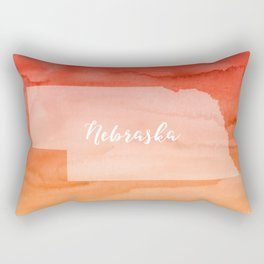 Sweet Home Nebraska Rectangular Pillow