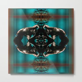 Night Swimming (Synchronized) Metal Print