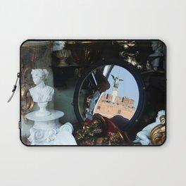 Mirrored St Angel Castle Rome Laptop Sleeve