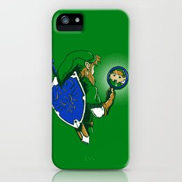 Link Too The Past iPhone Case
