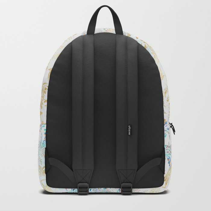 Feather peacock #12 Backpack