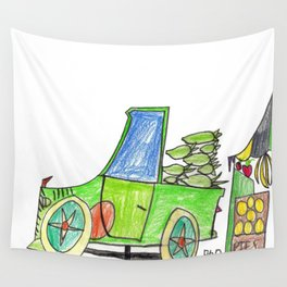 Corn to Market Wall Tapestry