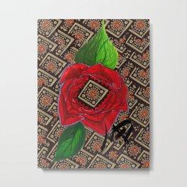 Rose Metal Print