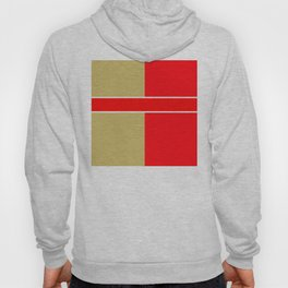 Team Colors 6...red,gold Hoody