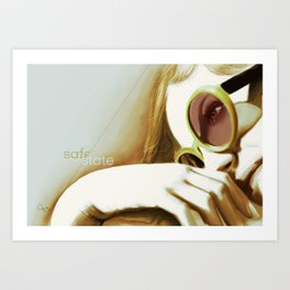 about safety Art Print