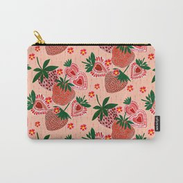 Strawberry Yum Carry-All Pouch