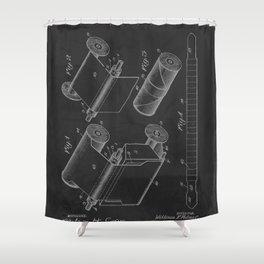 Photographic Film Strip 1918 Vintage Patent  Shower Curtain