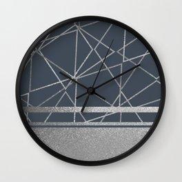Silverado: Gun Metal Wall Clock