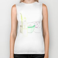 periodic table Biker Tanks featuring table by Pola Popova