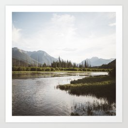 Vermillion Lakes | Banff National Park, Alberta, Canada | John Hill Photography Art Print