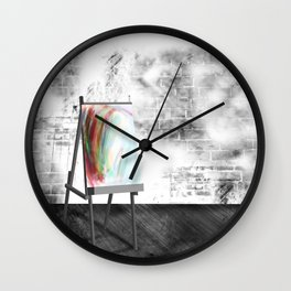 Opportunity Awaits Wall Clock