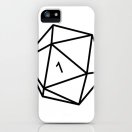 Fumble - Dungeons & Dragons for Dummies iPhone Case
