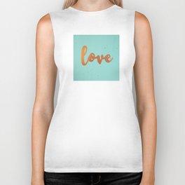 Acrylic 5 - Love! Biker Tank