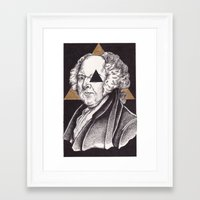 architect Framed Art Prints featuring Architect by Erik DeAngelis