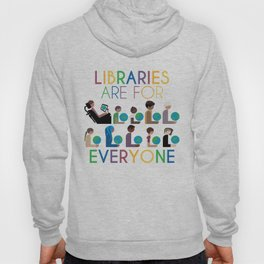 Rainbow Libraries Are For Everyone: Globes Hoody