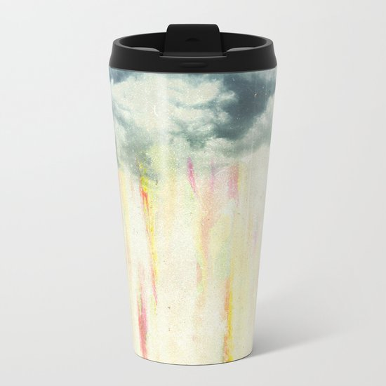 Let it rain on me Metal Travel Mug
