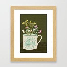 souvenir de pays-bas Framed Art Print
