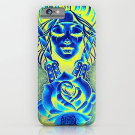 Chicana Rose iPhone Case