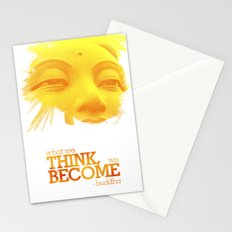 What we think we become Stationery Cards
