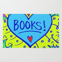 Books! Rug
