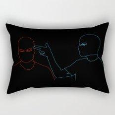 Twenty One Pilots - Guns For Hands Rectangular Pillow