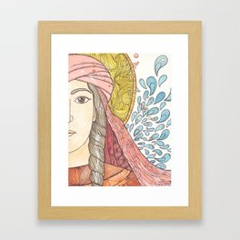 Photina Framed Art Print