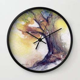 My Tree watercolor by CheyAnne Sexton Wall Clock