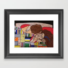 Klimt Review Framed Art Print