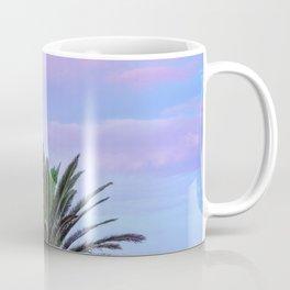 Rainbow Sunrise Palm Tree Coffee Mug