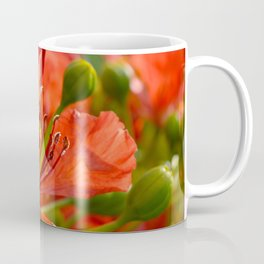 Red flame tree 290 Coffee Mug