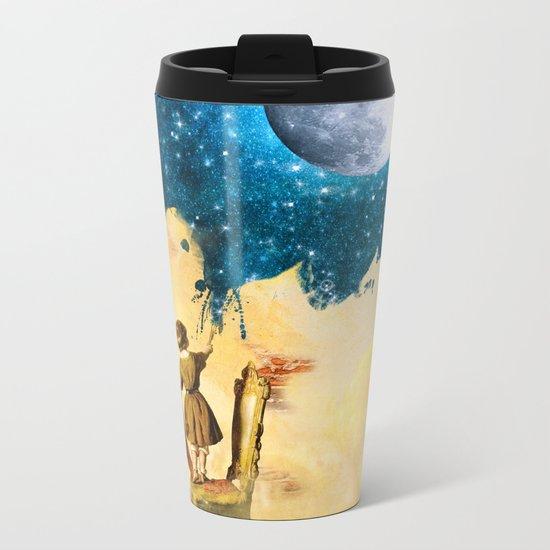 Painting Stars Metal Travel Mug