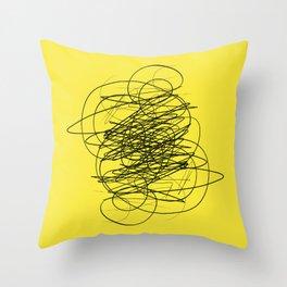 DEVOTIONAL SCRIBBLE Throw Pillow