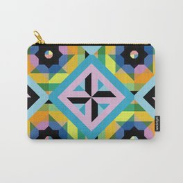 Unicorn tile pattern Carry-All Pouch