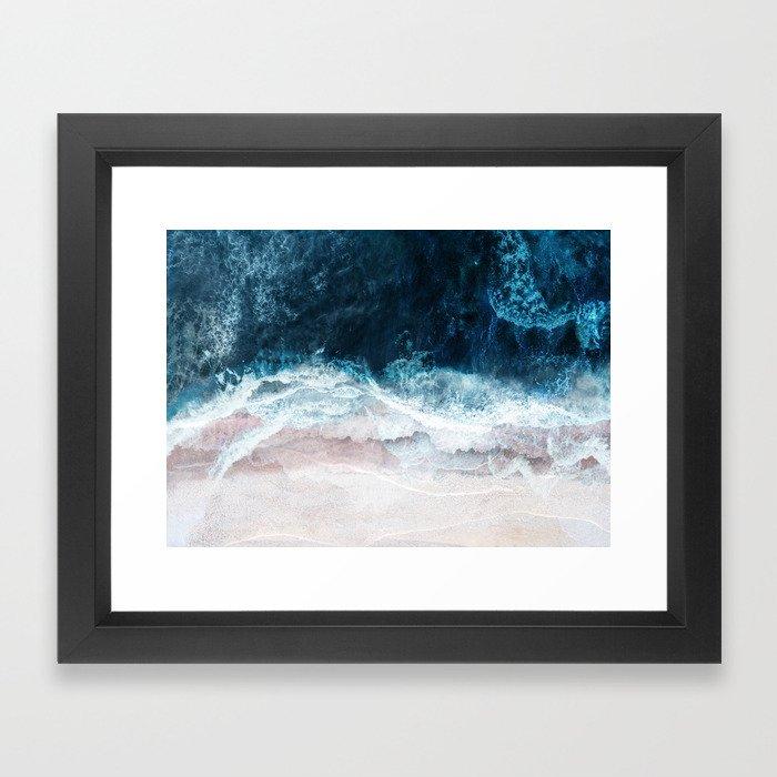 Blue Sea II Gerahmter Kunstdruck