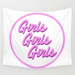 girls girls girls Wall Tapestry
