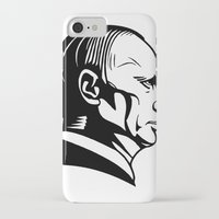putin iPhone & iPod Cases featuring putn by b & c