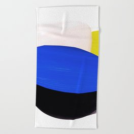 collage studies 18-01 Beach Towel